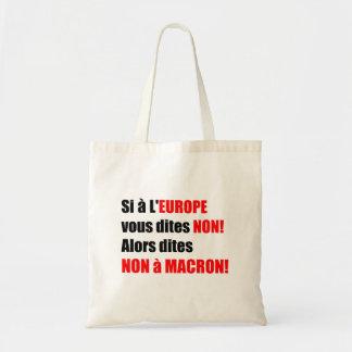 MACRON = Mondialisation Tote Bag