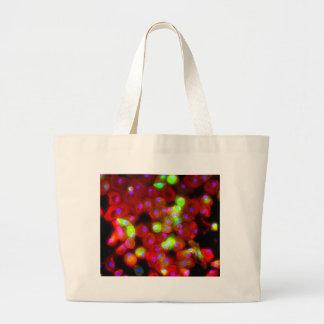 Macrophage Cells Science Art Large Tote Bag