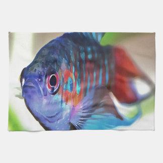 Macropodus opercularis – Paradise Fish Kitchen Towel