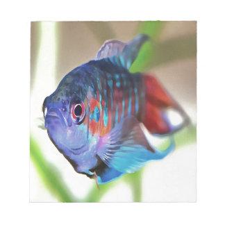 Macropodus opercularis – Paradise Fish Notepad