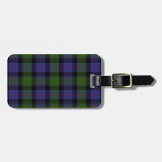 MacTaggart Tartan Luggage Tag