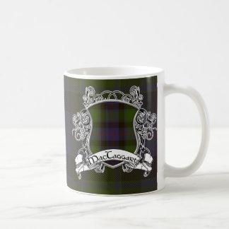 MacTaggart Tartan Shield Coffee Mug