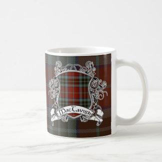 MacTavish Tartan Shield Coffee Mug