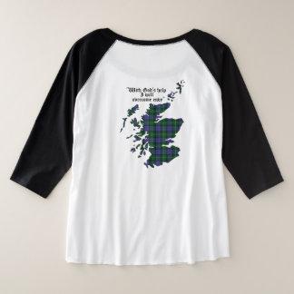 MacThomas Clan Women's Plus Size Raglan T-Shirt