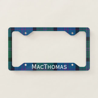 MacThomas Tartan Plaid License Plate Frame