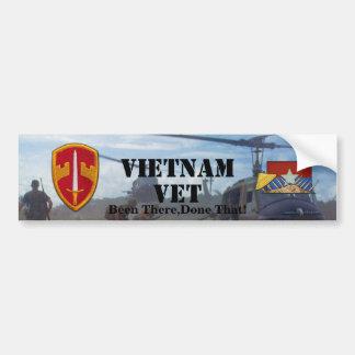 MACV Sog Military Advisors Vietnam Nam Bumper Sticker