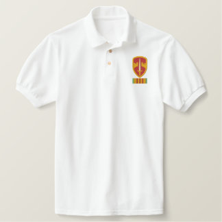 MacV Vietnam Logo Embroidered Polo Shirt