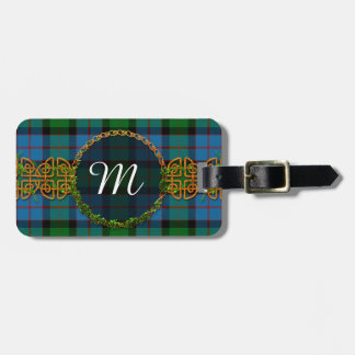 MacWilliams Tartan And Monogram Luggage Tag