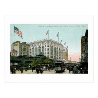 Macy s Department Store New York Postcards