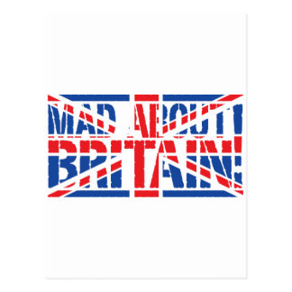 Mad About Britain Postcard