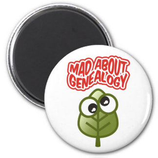 Mad About Genealogy Magnet