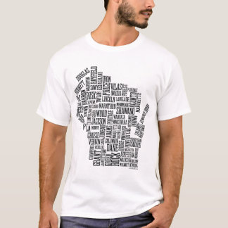 MAD ABOUT WISCONSIN T-Shirt