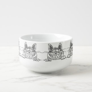 Mad and Crazy Pussy Soup Mug