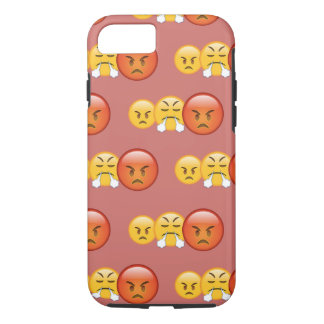 Mad/Angry Emoji Pattern iPhone 8/7 Case