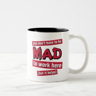 Mad at Work mug