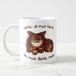 Mad Cat by Aleta Large Coffee Mug