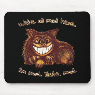 Mad Cat by Aleta Mouse Pad