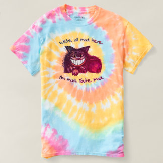 Mad Cat by Aleta T-shirt