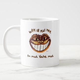 Mad Cat Rap by Aleta Large Coffee Mug