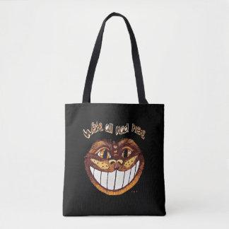 Mad Cat Smile by Aleta Tote Bag