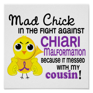 Mad Chick 2 Cousin Chiari Malformation Poster