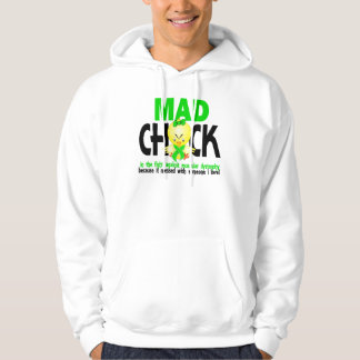 Mad Chick In The Fight Muscular Dystrophy Hoodie