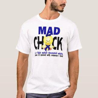 Mad Chick In The Fight Rheumatoid Arthritis T-Shirt