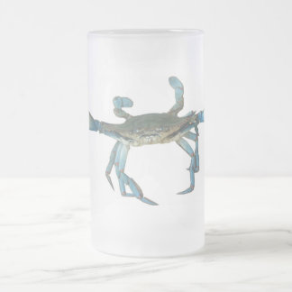 'Mad Crab' Frosted Mug