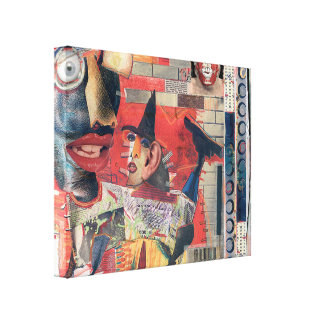 Mad Dogz Contemporary Canvas Print 20'' by 16''