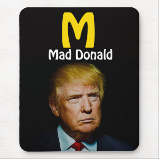 MAD DONALD MOUSE PAD