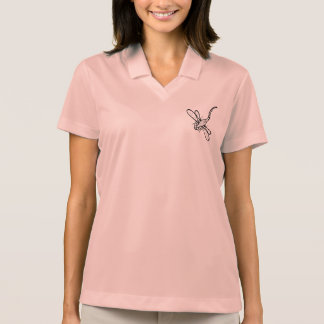 Mad dragonfly polo shirt