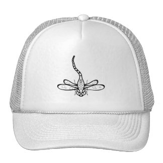 Mad dragonfly trucker hat