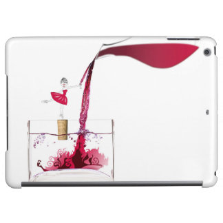 Mad for wine iPad air covers