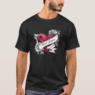 Mad Genius Tattoo Heart Tee