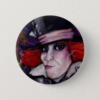 Mad Hatter 2 Inch Round Button