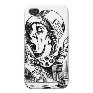 Mad Hatter Alice In Wonderland Ipod Touch Case iPhone 4/4S Cover