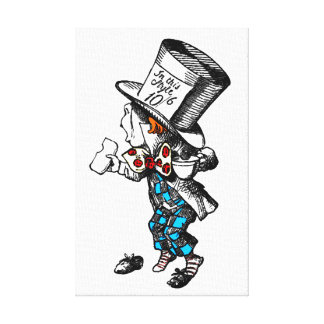 Mad Hatter Canvas Art Stretched Canvas Prints
