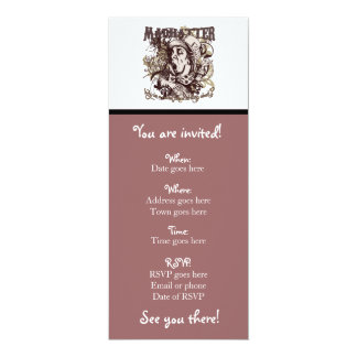 Mad Hatter Carnivale Style Card