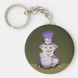 Mad Hatter Keychain