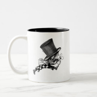 "Mad Hatter Mug ""We're all mad"""