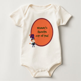Mad Hatter Tea for Two Baby Bodysuit