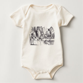 Mad Hatter Tea Party Baby Bodysuit