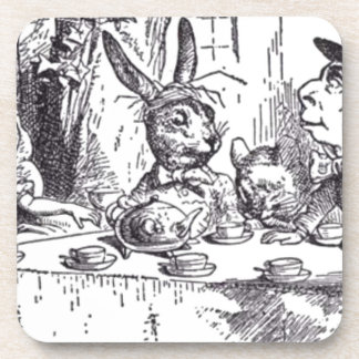 Mad Hatter Tea Party Coaster