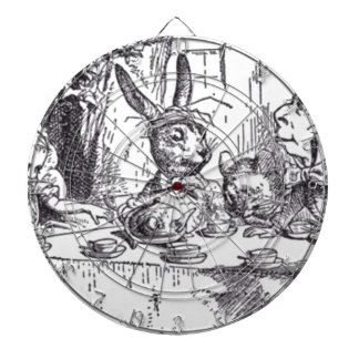 Mad Hatter Tea Party Dartboard