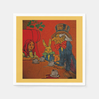Mad Hatter Tea Party Disposable Napkin