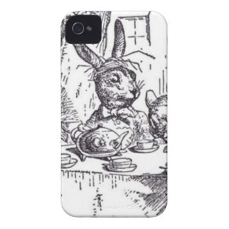 Mad Hatter Tea Party iPhone 4 Cases