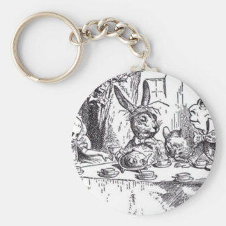 Mad Hatter Tea Party Keychain