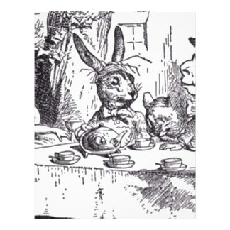 Mad Hatter Tea Party Letterhead