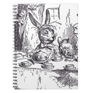 Mad Hatter Tea Party Notebook