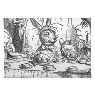 Mad Hatter Tea Party Placemat
